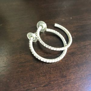 Jewelry - Rhinestone Hoops